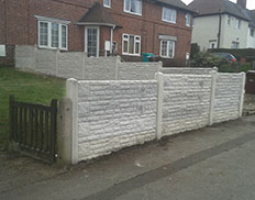 All Concrete Based Fence